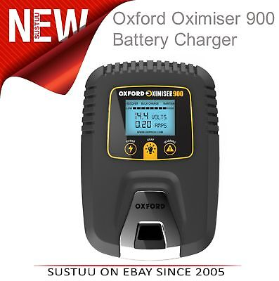 Oxford Oximiser 900 Battery Charger│PolarityVoltage│Analysis│Maintain Management