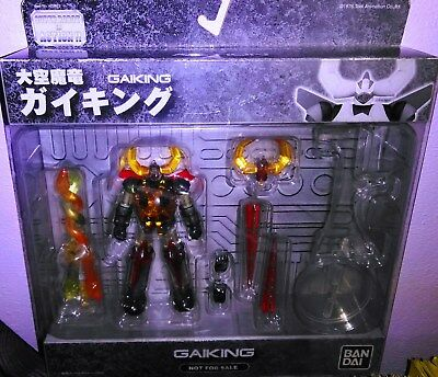 Eternal Force Super Robot Gaiking Clear figure Bandai Set Complete. [VERY RARE].