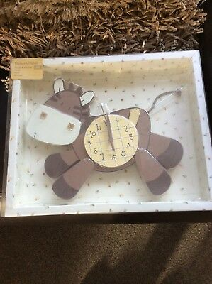 Mamas And Papas Zeddy And Parsnip New Clock