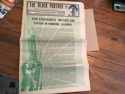 The Black Panther Party Newspaper, Original  Nov 21, 1970. Bobby Seale