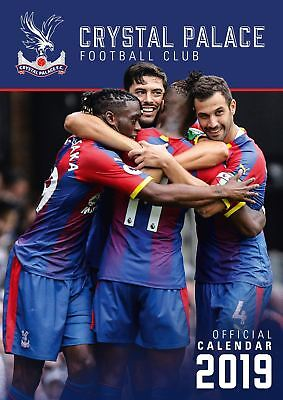 Crystal Palace FC 2019 Official Calendar Football Gift A3 Wall Hanging