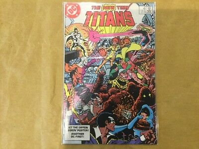 Dc The New Teen Titans #37 1983