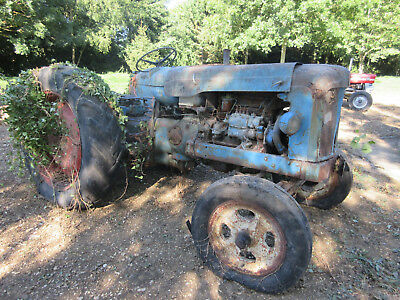 1960 Fordson Power Major Tractor - For Parts Or Restoration
