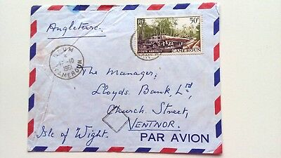 CAMEROON - Cover Airmail - 1961 - -  1v - To Isle of Wight