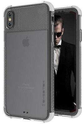 For Apple iPhone XS Max Case | Ghostek COVERT2 Clear Hard Silicone Phone Cover