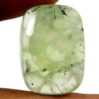 39.40 ct Natural Awesome Designer Prehnite Gemstone Octagon Shape Loose Cabochon