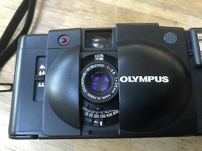 Olympus XA 2 Electronic Flash A11 Film Camera Boxed Original Documents