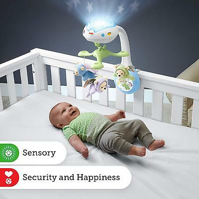 Fisher Price Baby Mobile Cot Butterfly Dreams Projection Nursery Music Light