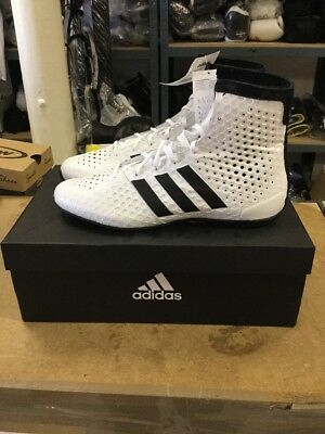 the best attitude 35dad a96d0 Adidas KO Legend 16.1 Boxing Boots Mens White   Black Sports Shoes Trainers