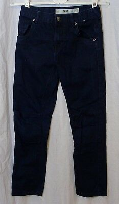 Boys Denim Co Primark Dark Blue Slim Fit Denim Jeans Age 9-10 Years