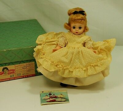 Amy Little Women Vintage Madame Alexander 8 inch Alexander-Kins Mint in Box