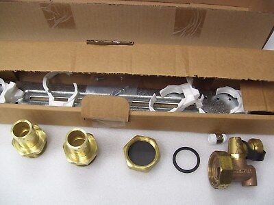 "Uponor A2077510 Manifold Kit With Sweat Adapter 3/4"" 1"" Copper & R32 End Cap"