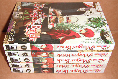 The Ancient Magus' Bride  Vol 1,3,4,5,6 Manga English