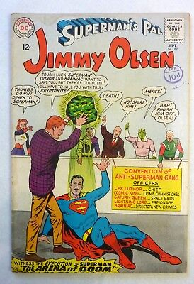 Superman's Pal Jimmy Olsen Lot  83,84,86,87 Silver Age 1965 G+ to VG++ Condition