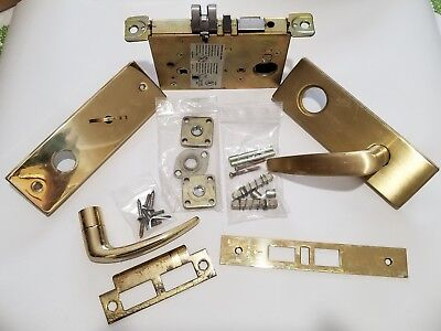 schlage mortise lock L9453 07L 606 lever with deadbolt reversible left or right
