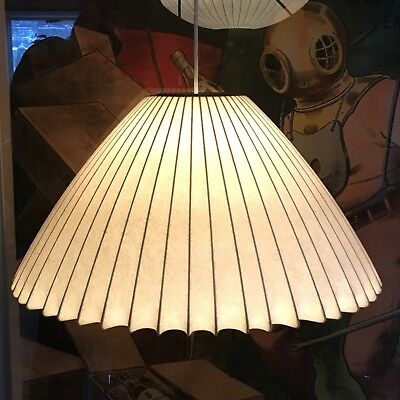 HUGE! RARE Vintage Mid Century Modern George Nelson Howard Miller Bubble Lamp