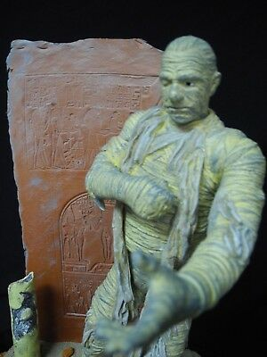 The MUMMY - BUILT AND PAINTED READY TO SHIP  with Custom base