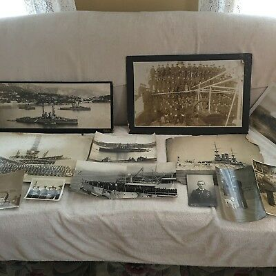 Vintage Naval History Photographs >Edwin Shepard> Ships>Officers>Military