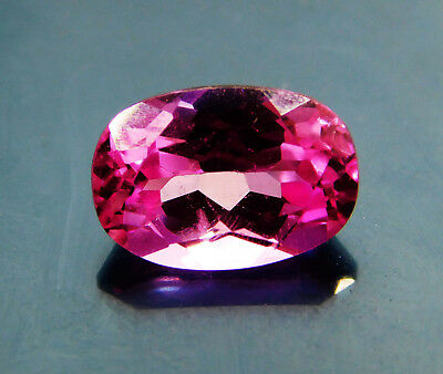 Natural 3.10 Cts. Untreated Oval Cut Pink Sapphire Loose Gemstone. G14153S