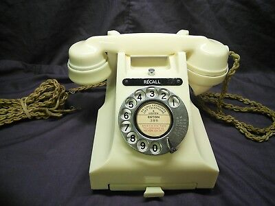GPO 332 ivory bakelite phone. Not great, has problems. Start 1 penny.
