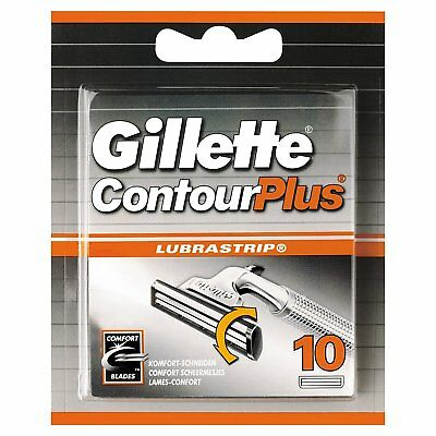 Gillette Contour Plus 10 Cartridge Pack