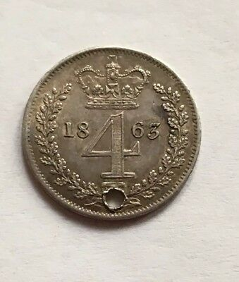 Victoria Four Pence 1863
