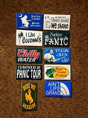 14 different stickers widespread panic vinyl sticker lot SPREAD THE LOVE