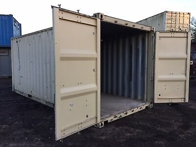 Steel Storage Container Anti Vandal Shipping Container Site Store Lock Up 20ft