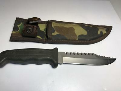 Vintage Buck Fieldmate Model 639 Fixed Blade Knife 1987 ORIGINAL SHEATH