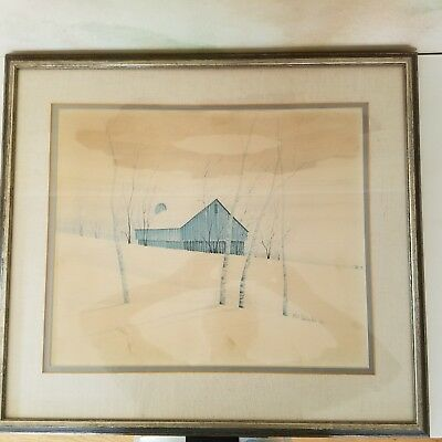 P. Buckley Moss, Rare, Limited Edition Print signed and numbered