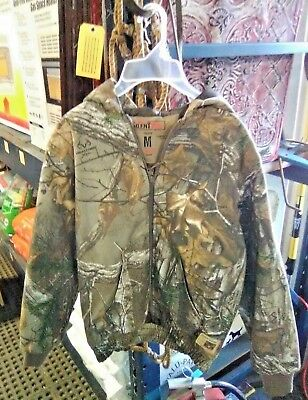 aa7dd20b4d4c5 REDHEAD REALTREE SILENT Hide Camo Insulated Youth Jacket Medium ...