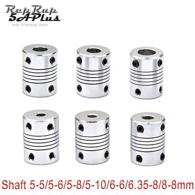1 PC Flexible Coupling Coupler Shaft 5mm 6mm 6.35mm 8mm 10mm Motor Jaw Shaft