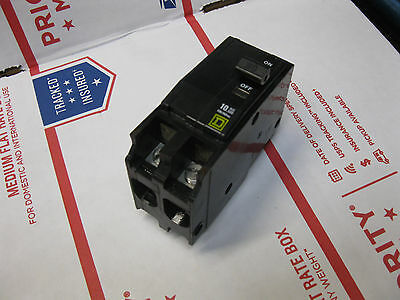 SQUARE D QOB2100 CIRCUIT BREAKER 100 AMP 2 POLE QOB bolt on HACR Series Yellow