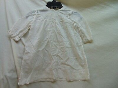 **Vintage & Homemade** Baby Girl Size?? Thin White Nightgown