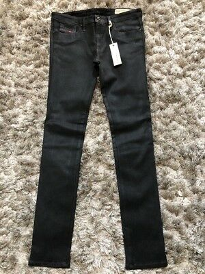 263a6aca DIESEL LIVIER SUPER Slim Low Waist Wash 0602W Stretch Jegging. Size ...