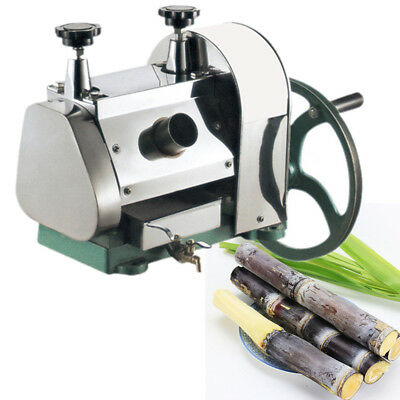 Commercical Manual Sugar Cane Juicer Sugarcane Juice Extractor Squeezer Press CE
