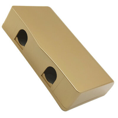 1Pcs Champagne Socket Switch Self-adhesive Waterproof Box For Socket Panel Mount