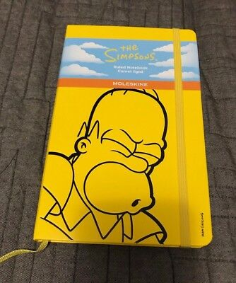 The Simpsons Moleskine Large Notebook (Ruled) Limited Edition 2014