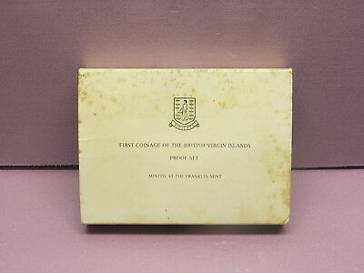 1974 First Coinage Of The British Virgin Islands Proof Set