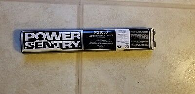 Power Sentry PS1050 LED Emergency Driver Battery Back-up UNTESTED