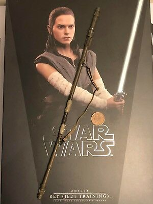Hot Toys Star Wars TLJ Rey Jedi Training Ver Pants loose 1//6th scale