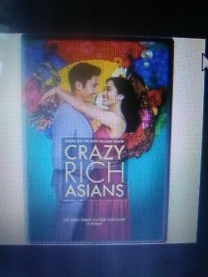 Crazy rich asians bluray only or dvd or 4k only(read description)11/20/18 preord