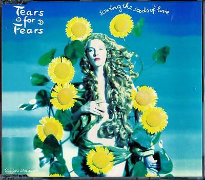 Tears For Fears Sowing The Seeds Of Love Promotional Copy Cd - Near Mint - Ln