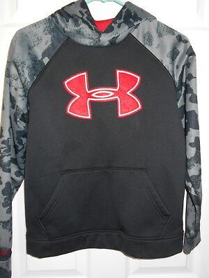 Under Armour Youth Large Long Sleeve Hooded Sweatshirt