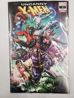 Uncanny X-Men #1 Finch Variant Vol 5 Marvel VF/NM Comics Book