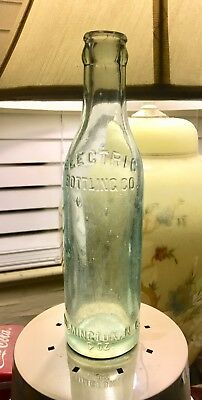 Electric Bottling Co. Straight Sided Bottle Wilmington Nc North Carolina Bimal