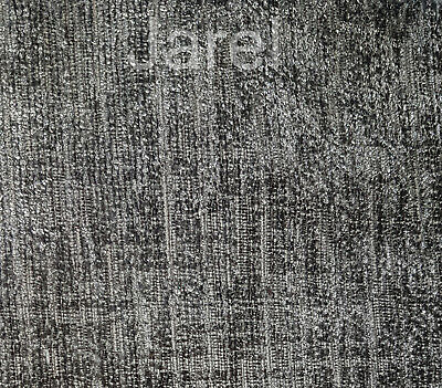 Charcoal Grey Chenille Upholstery Fabric Material - cushions curtains chairs