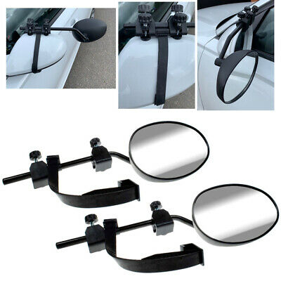 PREMIUM 2X caravan towing extension car wing mirrors fits VW Golf MK1,2,3,4,5