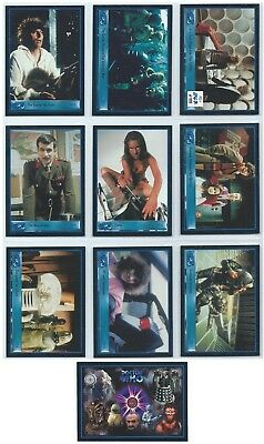2001 Strictly Ink Doctor Who Series 2 Preview Set Limited to 847/999 w/ Promo
