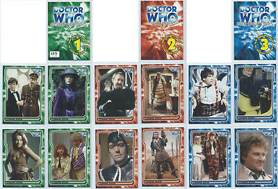2005 Strictly Ink Doctor Who Companions Doctors Villains Preview Set 253/999